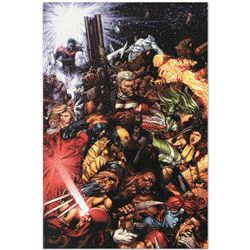 """Marvel Comics """"X-Men #207 (Messiah CompleX)"""" Numbered Limited Edition Giclee on Canvas by Chris Bach"""