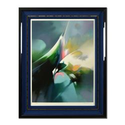 """Thomas Leung, """"Effervescence"""" Framed Limited Edition, Numbered 63/275 and Hand Signed with Letter of"""