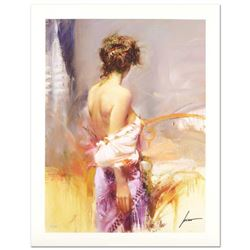 """Pino (1939-2010) """"Twilight"""" Limited Edition Giclee. Numbered and Hand Signed; Certificate of Authent"""