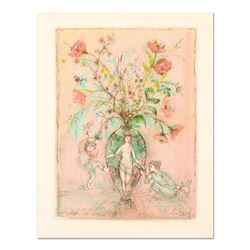 """Edna Hibel (1917-2014), """"Sprites of the Grecian Urn"""" Limited Edition Lithograph, Numbered and Hand S"""