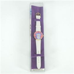 "Vintage Peter Max ""Liberty Head"" Watch with Original Packaging and Paperwork."