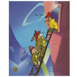 "Chuck Jones ""Burnt Toast"" Hand Signed, Hand Painted Limited Edition Sericel."