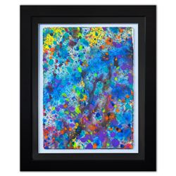 "Wyland- Original Watercolor ""Pollack Coral Reef"""