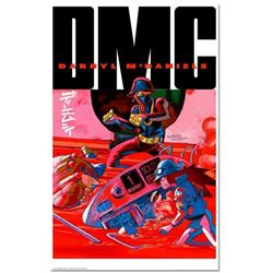 """I...AM DMC"" is a Numbered Chromatic Pigment Ink Limited Edition, Hand Signed by Darryl ""DMC"" McDani"