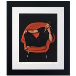 """""""Robin Thicke"""" Limited Edition Giclee by Rob Shanahan, Numbered and Hand Signed with COA. This piece"""