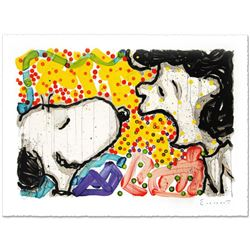 """""""Drama Queen"""" Limited Edition Hand Pulled Original Lithograph by Renowned Charles Schulz Protege, To"""