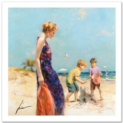 """Pino (1939-2010) """"Good Ole Days"""" Limited Edition Giclee. Numbered and Hand Signed; Certificate of Au"""
