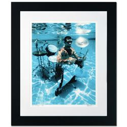 """""""John Dolmayan"""" Limited Edition Giclee by Rob Shanahan, Numbered and Hand Signed with COA. This piec"""
