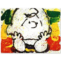 """Call Waiting"" Limited Edition Hand Pulled Original Lithograph by Renowned Charles Schulz Protege, T"