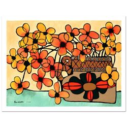 "Avi Ben-Simhon, ""Autumn"" Limited Edition Serigraph, Numbered and Hand Signed with Certificate of Aut"