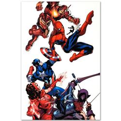 "Marvel Comics ""Marvel Knights Spider-Man #2"" Numbered Limited Edition Giclee on Canvas by Terry Dods"