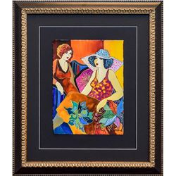 "Patricia Govezensky- Original Watercolor ""Mary and Margo"""