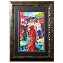 "Patricia Govezensky- Original Watercolor ""Audrey & Eden"""