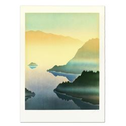"""Rand, """"Lake"""" Limited Edition Lithograph, Numbered and Hand Signed."""
