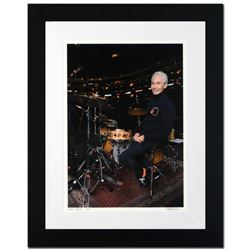 """""""Charlie Watts"""" Limited Edition Giclee by Rob Shanahan, Numbered and Hand Signed with COA. This piec"""