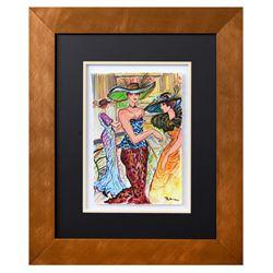 "Patricia Govezensky- Original Watercolor ""Maria"""