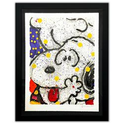 "Tom Everhart- Hand Pulled Original Lithograph ""My Main Squeeze"""