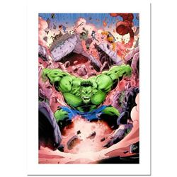"Stan Lee Signed, ""Skaar: Son of Hulk #11"" Numbered Marvel Comics Limited Edition Canvas by Ron Lim w"