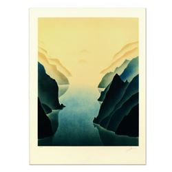 "Rand, ""Gorge"" Limited Edition Lithograph, Numbered and Hand Signed."