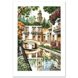 """""""Reflections"""" Limited Edition Serigraph by Juan Medina, Numbered and Hand Signed with Certificate of"""