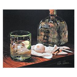 """Nobu Haihara, """"Patron Del Sol"""" Limited Edition Canvas, Signed and with COA."""