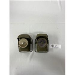 Pair Of WW2 British/Canadian Soldiers Lanterns
