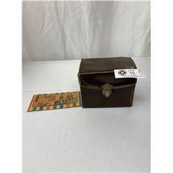 Nice Vintage Box-Tengor Camera In Original Case