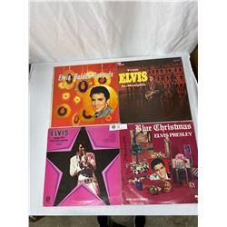 Lot Of 3 Vintage Elvis Presley Records