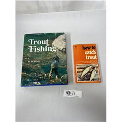 2 Vintage Books On Trout Fishing