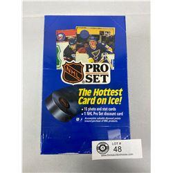 Sealed 1990 Pro Set Hockey Cards, Series 1