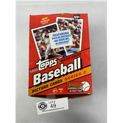 1993 Topps Major League Baseball Cards, Sealed In Original Box