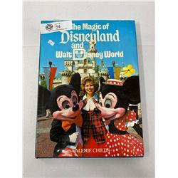 Nice Hardcover Disney Land Book