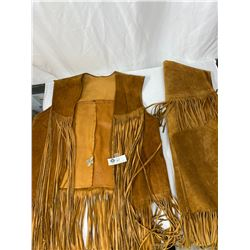 2 Nicely Made Leather Vest Made In Vancouver BC