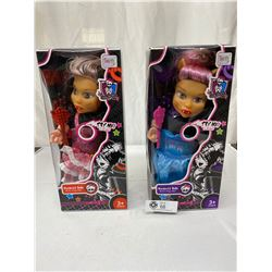 2 Moster Dolls Still In Original Packages