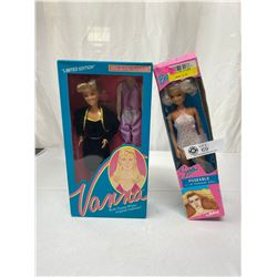 Vintage Barbie Doll In Package Plus Avanna White Limited Edition Doll In Original Package