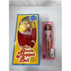 The Suzy Moppet Doll In Original Box Plus A Flare Barbie Style Doll In Original Package