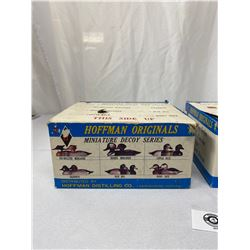 3 Packages Of Hoffman Original Minature Duck Decoys