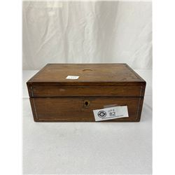 Antique Rosewood Sewing Box 1860 As Is