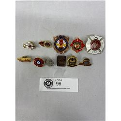 Nice Lot Of Collectible Fire Pins