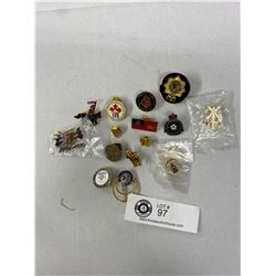 Nice Lot Of RCMP Collectible Pins