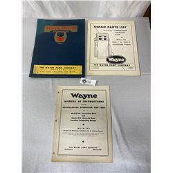 Vintage Service Manuals For Wayne Gasoline Pumps And Brodie Meters