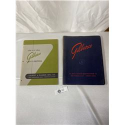 Vintage Service Manuals For Gilbarco Gasoline Pumps And Air Meters