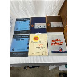 Vintage Service Manuals For Bennet Gasoline Pumps And Eco Tire Flaters And Islanders, John Wood Comp