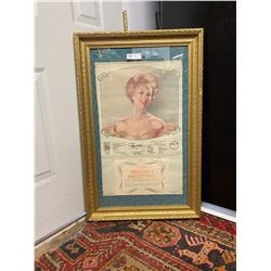 Beautifully Framed Golden Girls Of 1898 Tribute Calendar Great Graphics