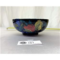 """1913 Rubens Ware By Shensuns England Pattern Pomegrante Hand Painted Signed By Artist, 6.5"""" Diameter"""