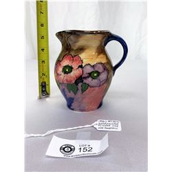 Excellent Condition 1930s Art-Deco Handpainted Flower Jug H and K Tunstuall England