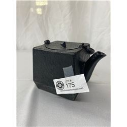 Japanese Tetsubin Cast Iron Square Tea Pot Lined With Enamel, Comes With Removable Stainless Steel I