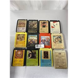 Large Lot Of 8 Tracks, Country, Rock, Etc
