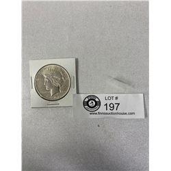 1922 U.S Silver Peace Dollar
