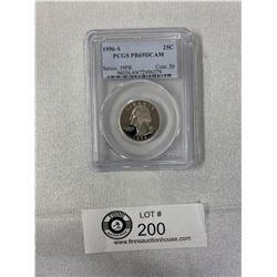 Nice 1996-S Graded U.S Quarter PR 69